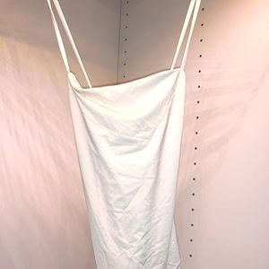 BRAND NEW ARITZIA white bodysuit cris-cross straps
